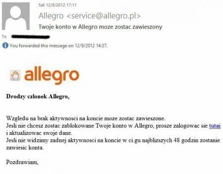 phishing allegro