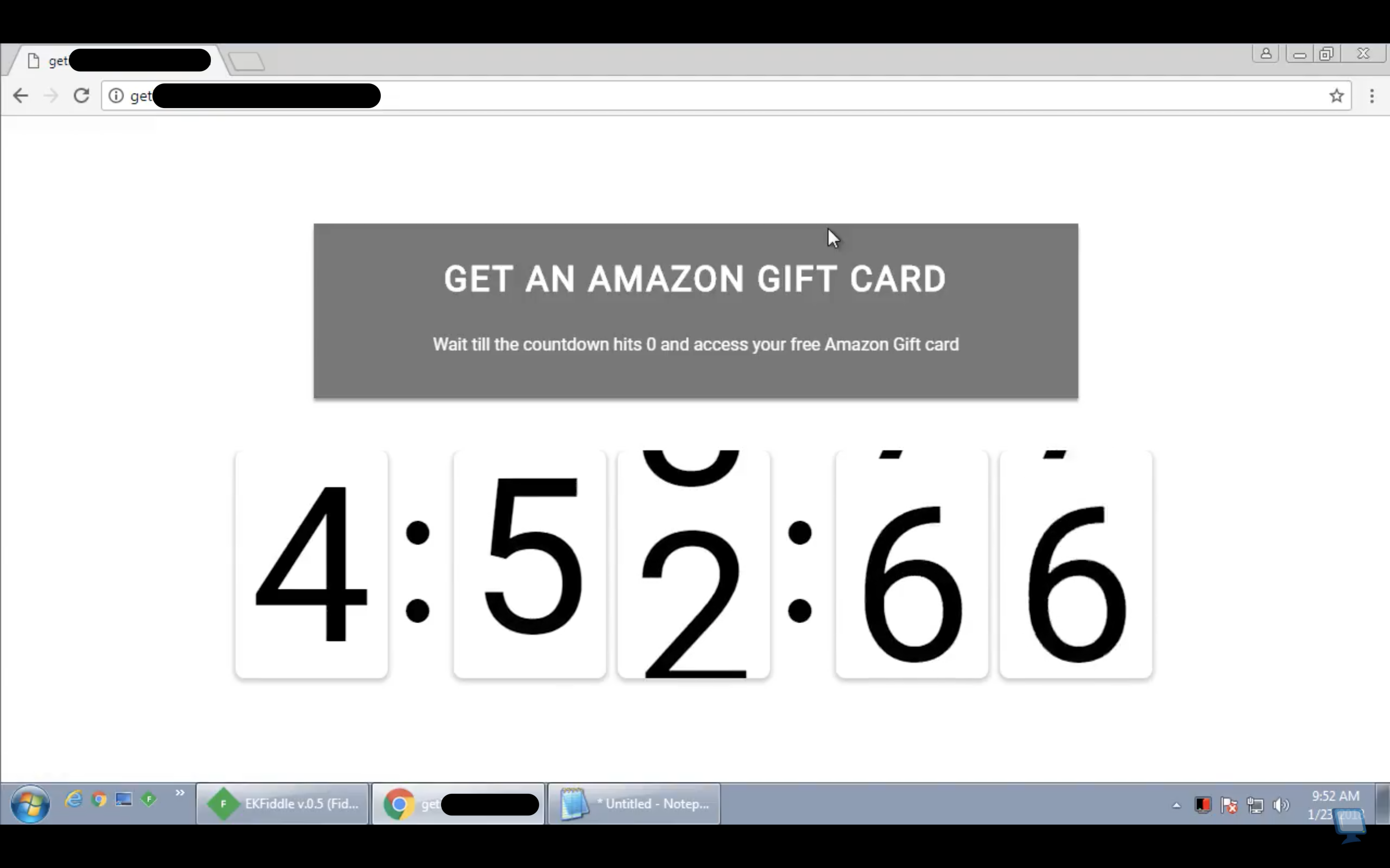 Źródło: https://www.bleepingcomputer.com/news/security/sites-promoting-free-amazon-gift-cards-dont-deliver-what-you-are-expecting/