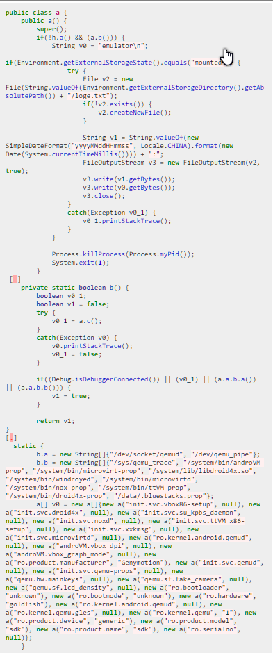 Źródło: https://blog.trustlook.com/2018/04/02/a-trojan-with-hidden-malicious-code-steals-users-messenger-app-information/