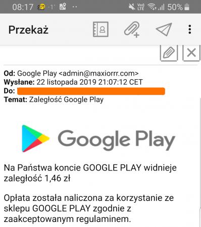 Źródło: https://niebezpiecznik.pl/post/posiadacze-kont-google-uwaga-na-nowy-atak-zaleglosc-google-play/